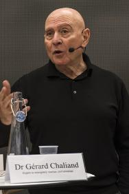 Dr Gérard Chaliand, expert in insurgency warfare and terrorism