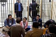 ICRC delegates speak to detainees in Sulamaniyah Prison