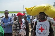 Niger. 5 May 2014. ICRC operation providing medical and other assistance on the island of Koitamota, in Diffa region