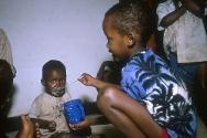 Kigali, June 1994. Thousands of orphans were taken in by the ICRC.
