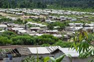 PTP refugee camp, Grand Gedeh County, Liberia.