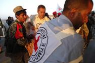 In January 2014, the ICRC evacuated the last group of casualties from Dammaj, and helped retrieve the bodies of 37 persons on both sides.