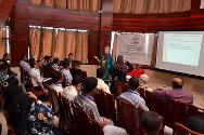Aden. Seminar on treating war-wounded patients.