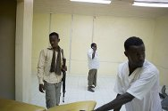 Somalia. After being attacked, Mohammed Yusuf, director of the Medina Hospital in Mogadishu, is now guarded 24 hours a day.