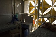Libya. The battered main clinic in Misrata had to be evacuated when it was taken over to be used as a military base.