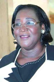 Professor Thérèse Aya N'Dri-Yoman, former Minister of Health HIV/AID prevention of Côte d'Ivoire