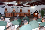 International humanitarian law workshop for the Bolivarian National Armed Force of Venezuela.
