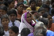 Northern Sri Lanka. Displaced people take part in a resettlement programme.