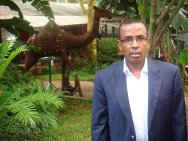 Dr. Yusuf Mohamed Hassan, director del hospital Keysaney.