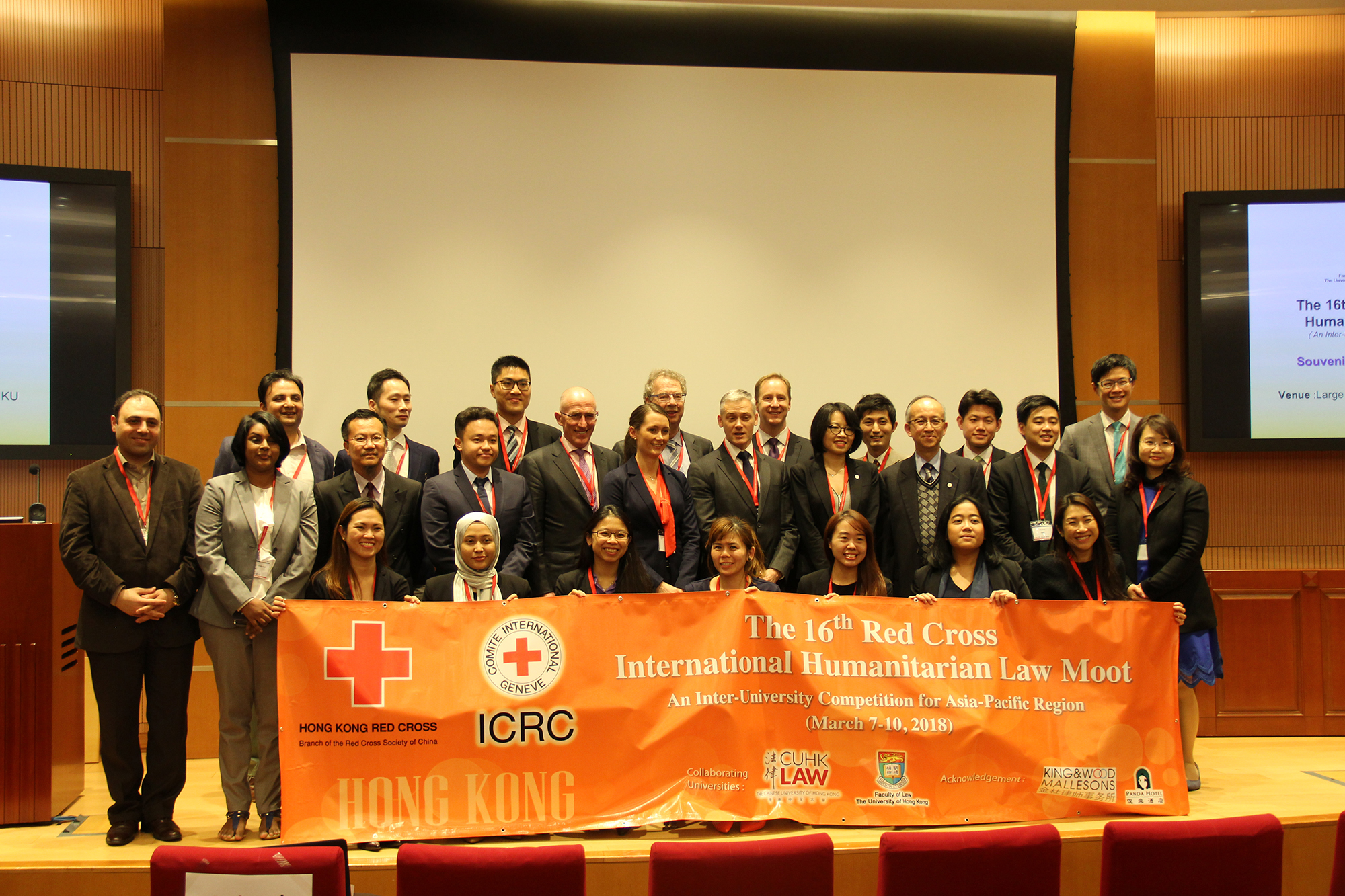 Hong Kong Highlights From Ihl Moot Court Competition Hk Red International Committee Of The Cross