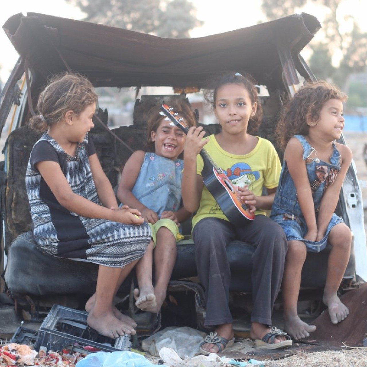 Young photographers from Gaza capture moments of joy | International