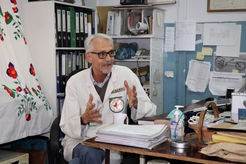 在阿富汗帮助残疾人士:一生的事业