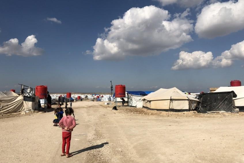 La vida en Al Hol, Siria