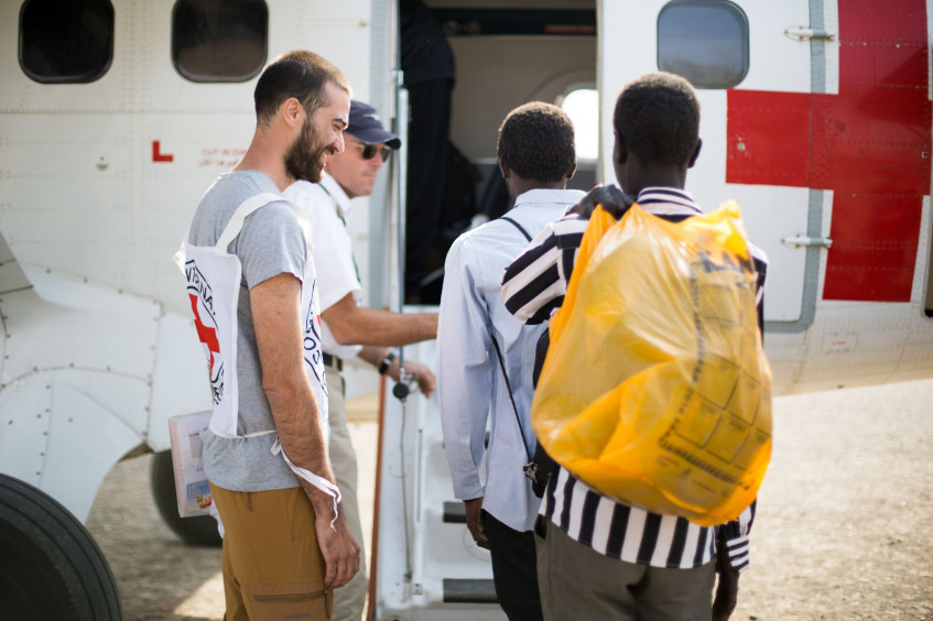ICRC facilitates release of three including two foreigners in Central Equatoria