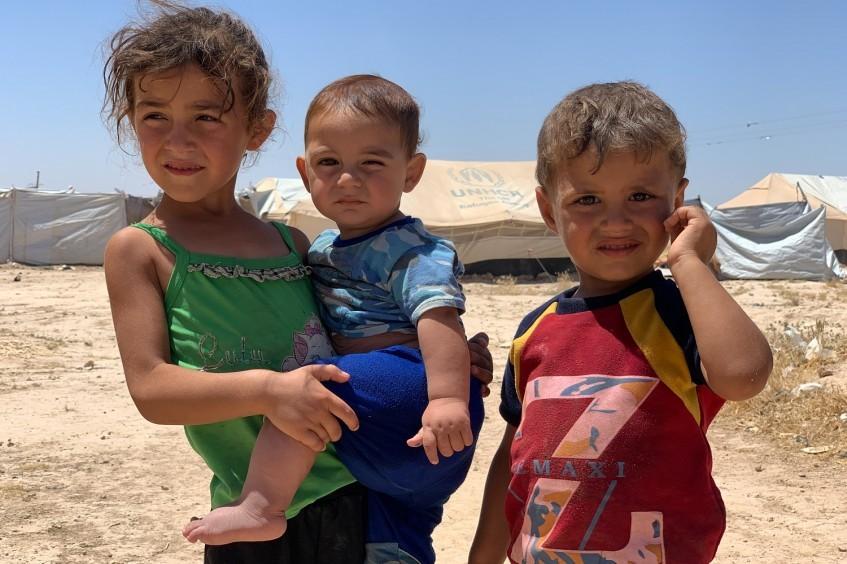 Siria: un campamento donde los niños son mayoría