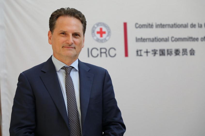 红十字国际委员会东亚地区代表处主任:期待与中国加强国际公共卫生合作