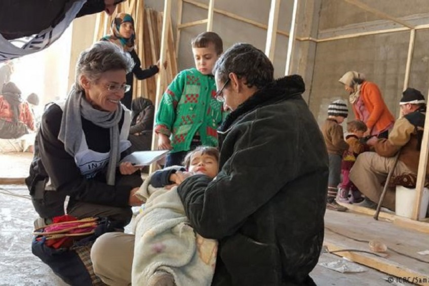 """Les Syriens ont encore besoin d'aide"""