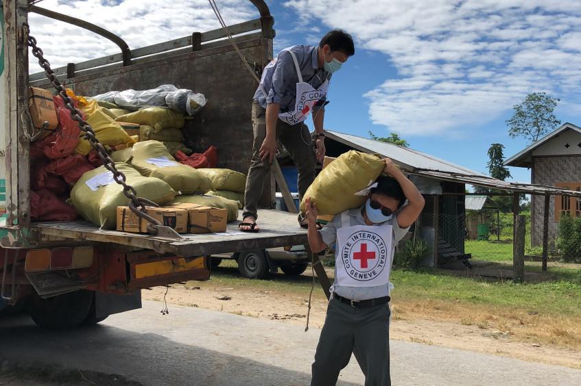 缅甸:红十字国际委员会应对新冠肺炎疫情