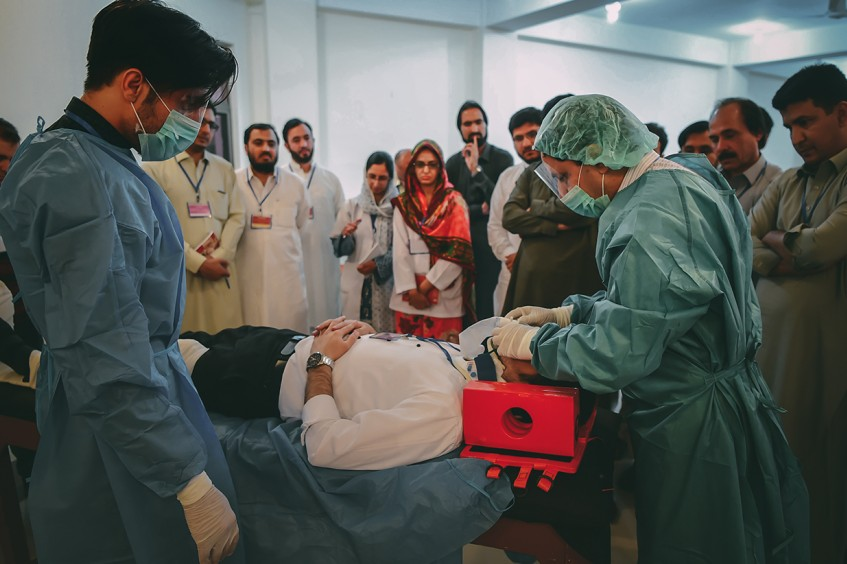 Pakistan: Cultivating skills for enhanced trauma care