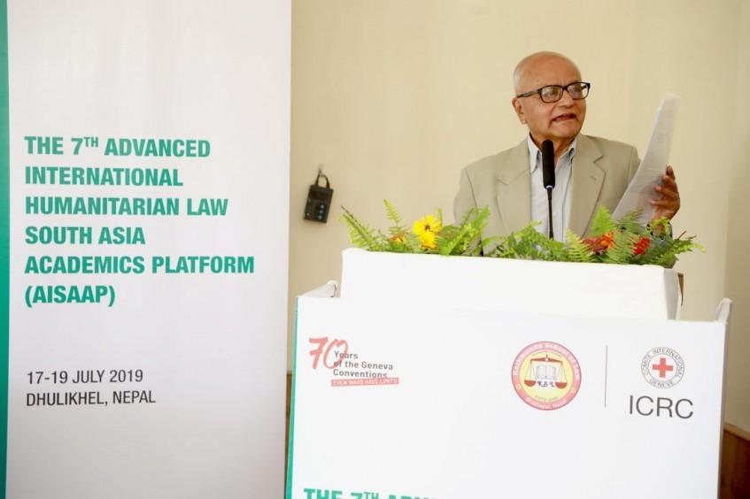 尼泊尔:地区专家在《日内瓦公约》70周年前夕探讨国际人道法