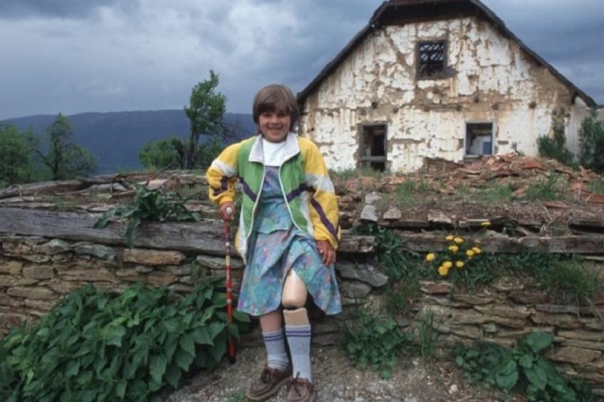 Vivendo com minas terrestres na Bósnia e Herzegovina