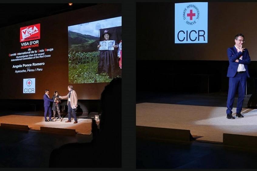 安吉拉•庞塞•罗梅罗荣获本年度红十字国际委员会人道新闻摄影金奖
