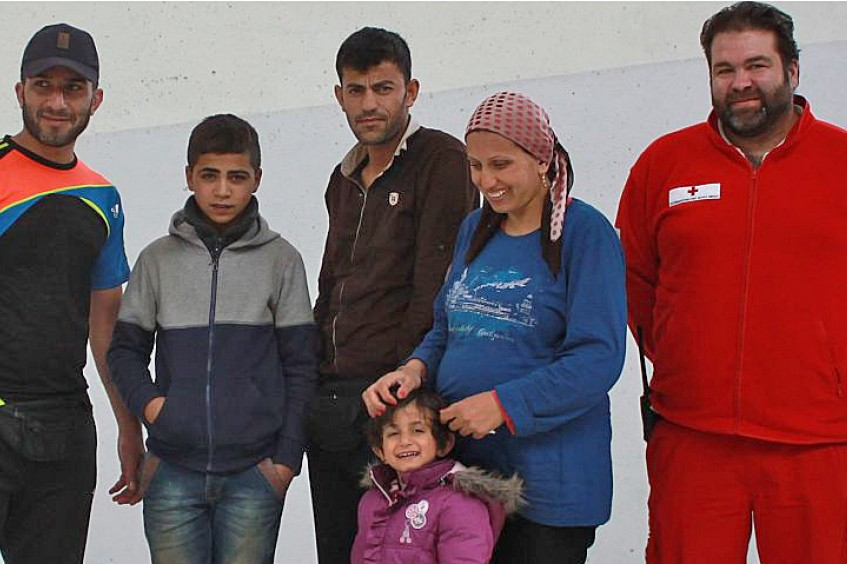 Austria: Separated refugee family reunited in Salzburg