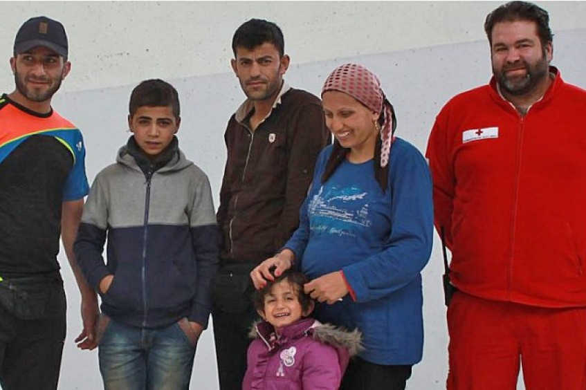奥地利:离散难民家庭在萨尔茨堡重聚