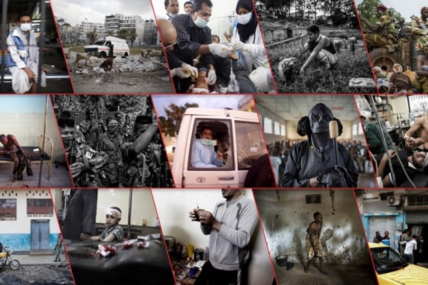 2017年红十字国际委员会人道新闻摄影金奖作品征集