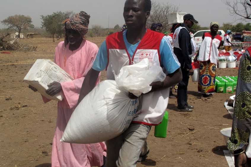 Burkina Faso: Aid for 1,700 displaced people