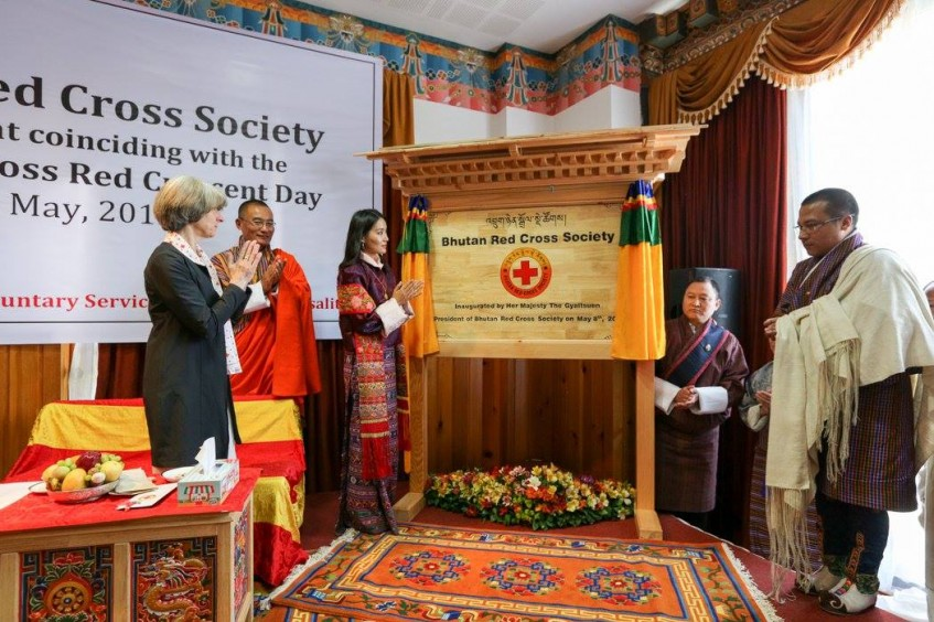 Bhutan Red Cross Society officially launched