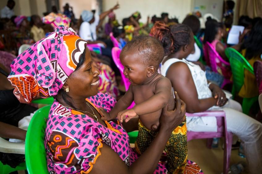 中非共和国:以时尚的方式庆祝国际妇女节