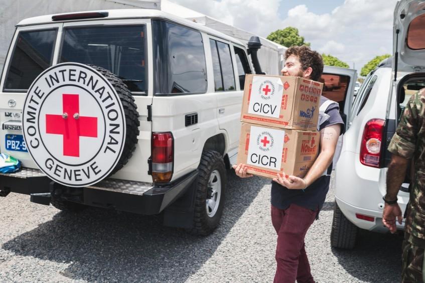 新冠肺炎疫情:红十字国际委员会在亚马孙州和罗赖马州捐赠个人防护和卫生用品