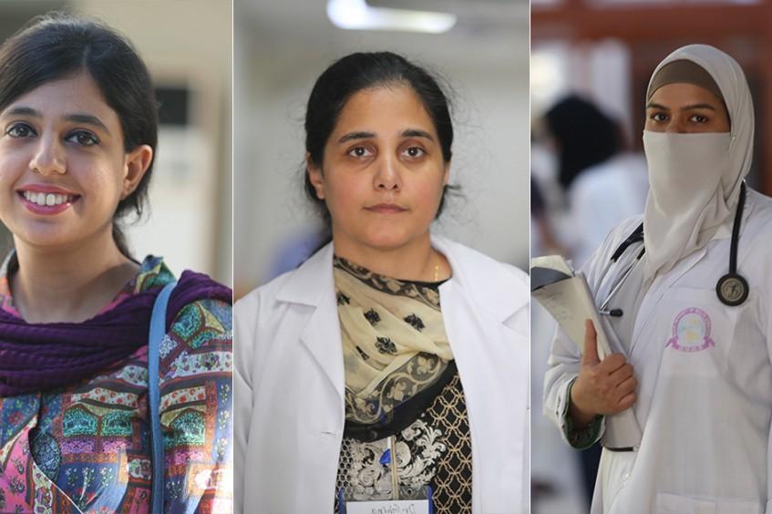 巴基斯坦:六名女医生讲述她们得到的激励、面临的挑战,以及给未来一代的建议