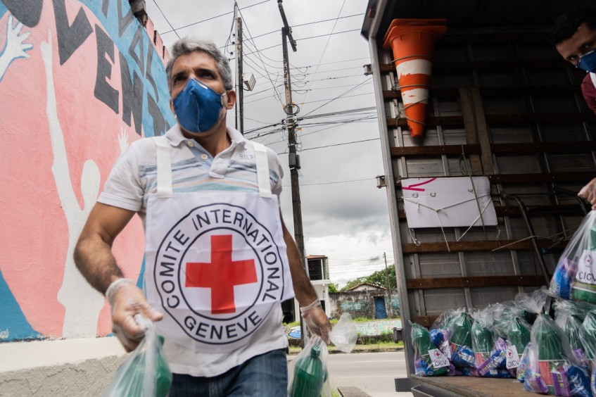 COVID-19: atividades do CICV no Brasil e países do Cone Sul frente à pandemia