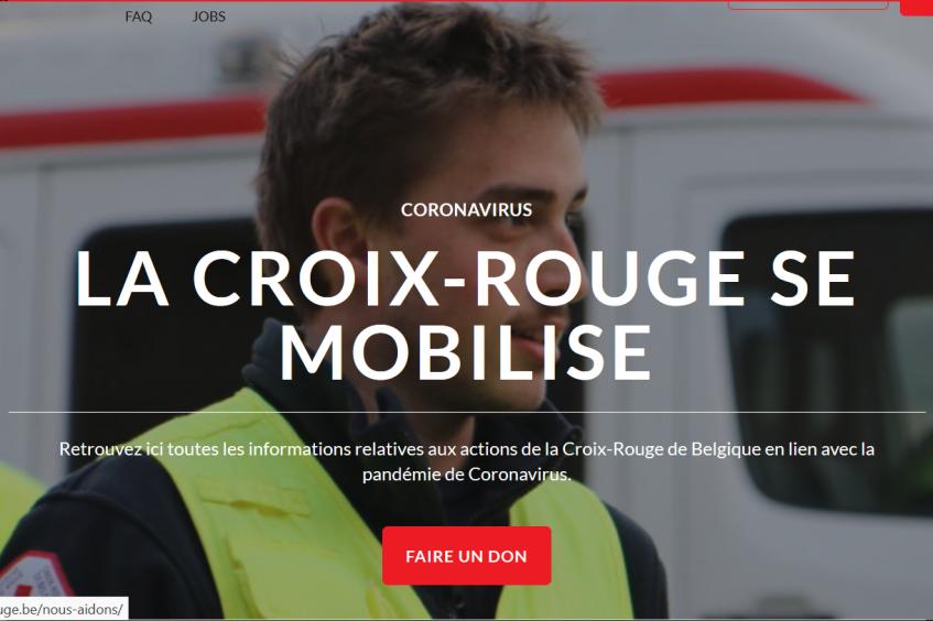 Journal de bord des volontaires de la Croix-Rouge de Belgique