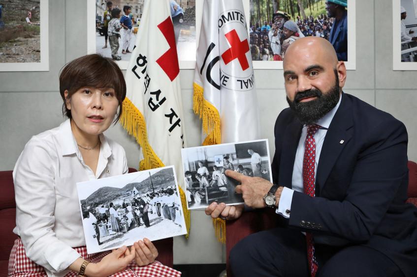 首尔:红十字国际委员会纪念朝鲜战争70周年,凸显人道应对行动