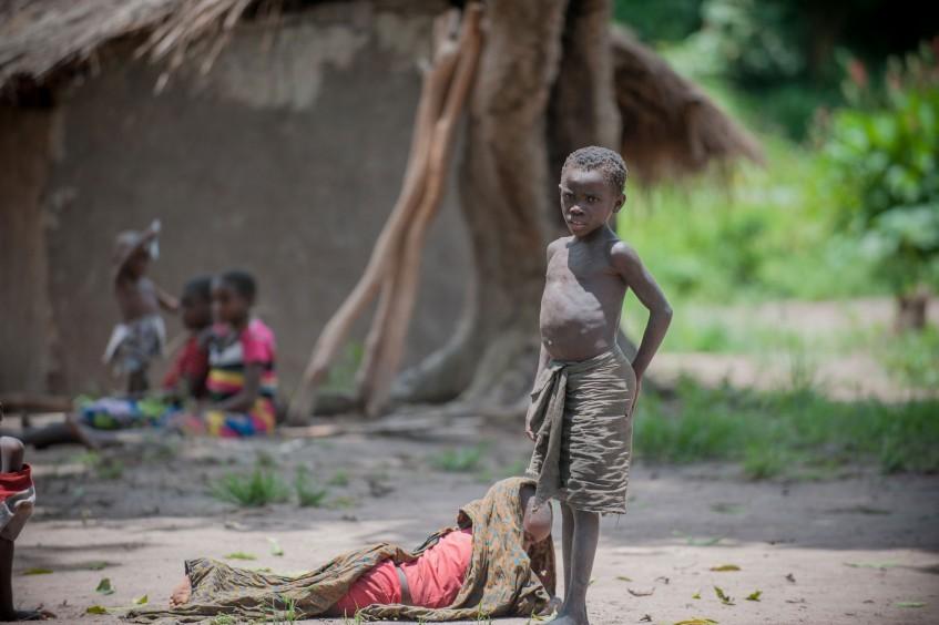 Tanganica: hambre y abandono