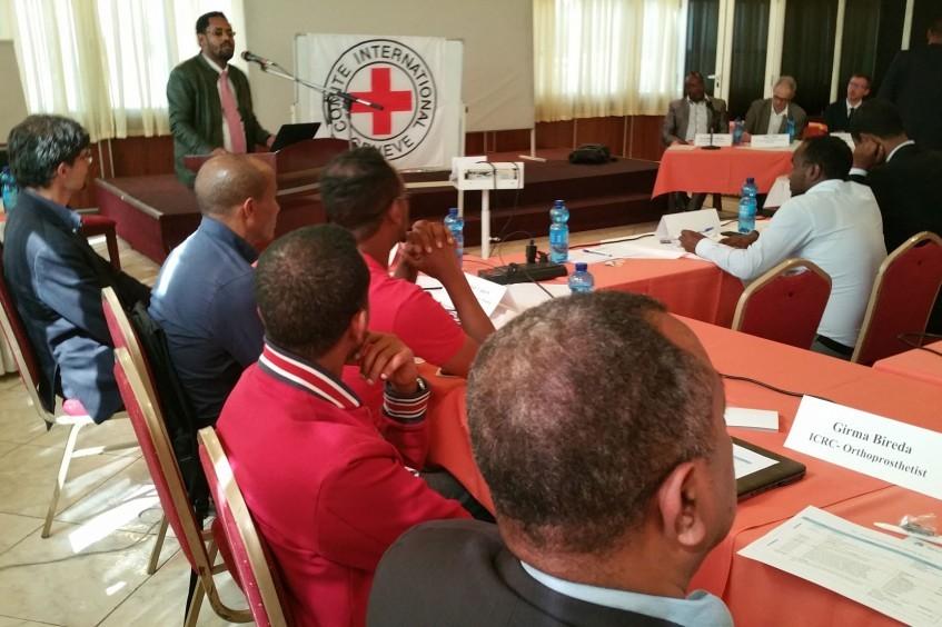 埃塞俄比亚:红十字国际委员会与利益相关方举办假肢康复合作伙伴年度会议