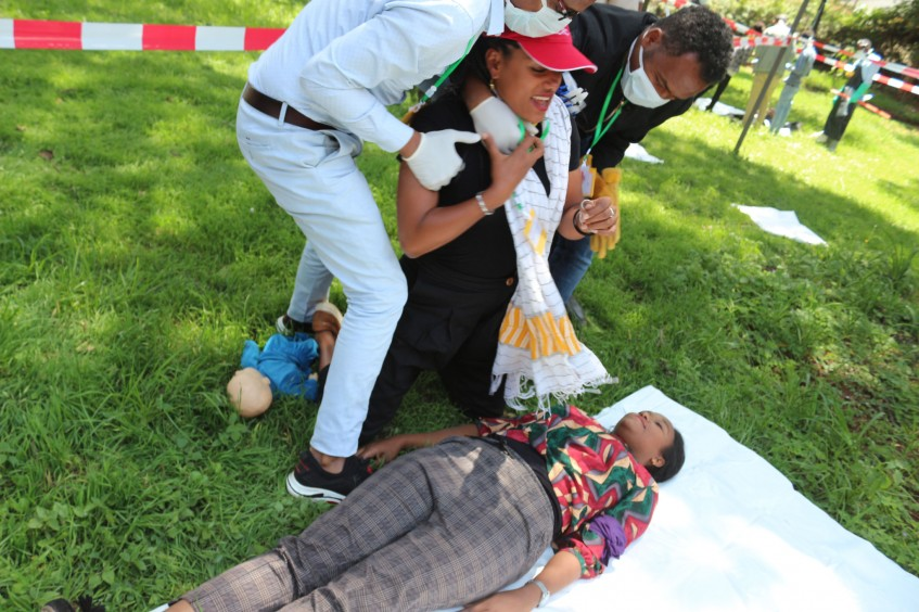 ICRC, ERCS conduct Dead Body Management training