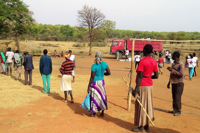 埃塞俄比亚:红十字国际委员会、埃塞俄比亚红会为25500名返乡者提供生计支持