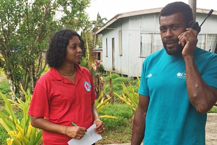 La Cruz Roja de Fiyi y el CICR restablecen contactos entre familiares tras el ciclón