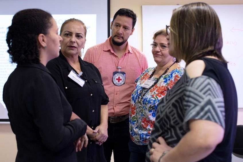 Brasil: Programa do CICV leva atenção à saúde mental de servidores de Fortaleza