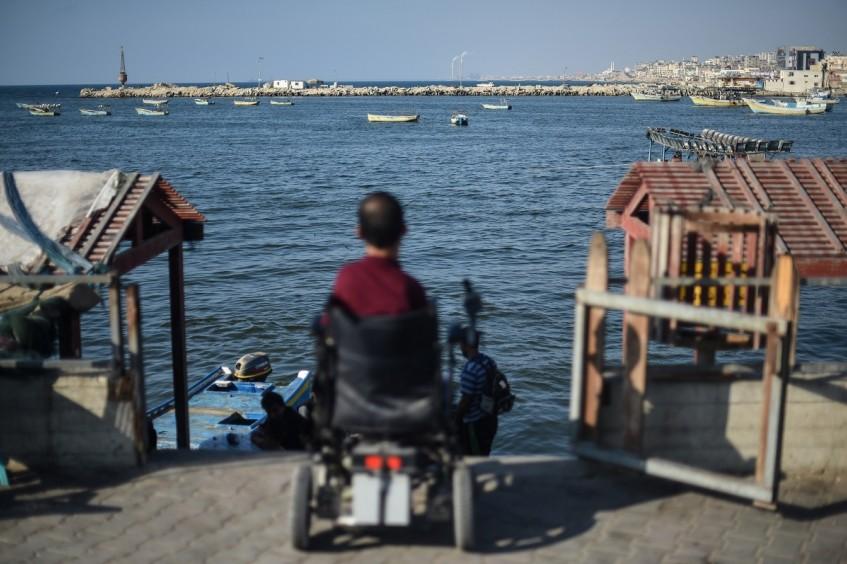 La vida diaria en Gaza
