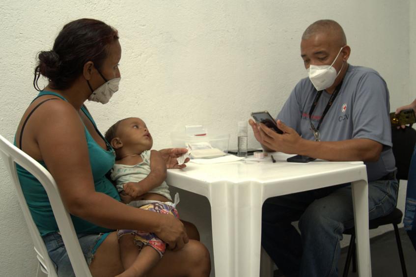 CICV reforça Programa de RLF<br/>na fronteira do Brasil<br/>com a Venezuela