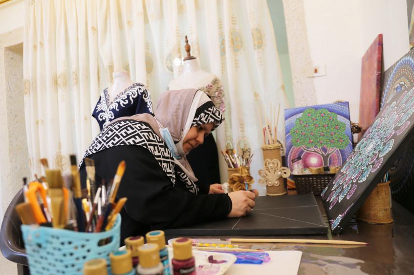 Jordan: When Art Becomes a Salvation