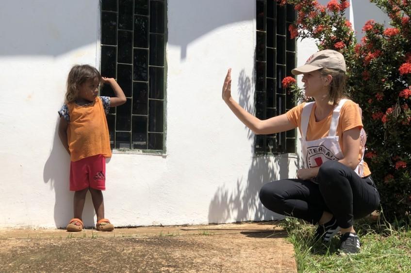 为2019年受暴力局势影响最严重的委内瑞拉民众提供支持