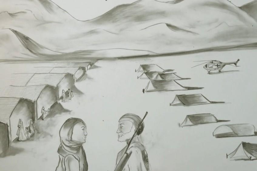 Paquistão: Arriscar-se para levar ajuda a mulheres e crianças