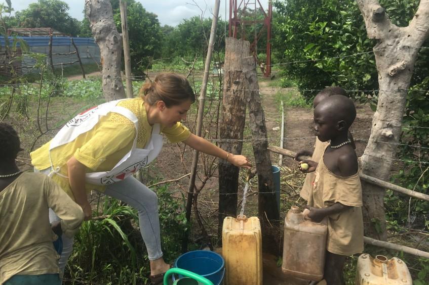 """""""Das tägliche Leben in Südsudan ist nur schwer vorstellbar."""""""