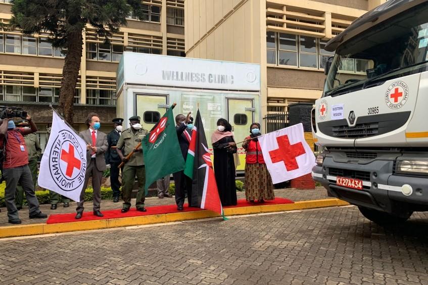 肯尼亚:面对新冠肺炎疫情威胁,红十字为监狱捐赠物资,修建检疫隔离设施并改善基础设施